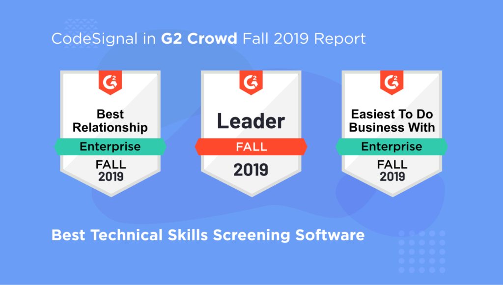 CodeSignal in G2 Crowd Fall 2019 Report